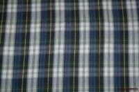 "Blue/Green/White/Yellow Plaid Shirting Flannel Fabric 62""W BTY"