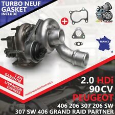 Turbo New Peugeot 206 Sw 2.0 HDI -66 Kw 90 Cvs with Joint Joint 706977-0002