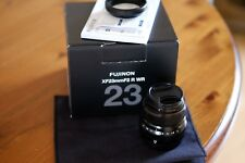 Fuji Fujinon XF 23 mm F/2 R WR Lens (Black)