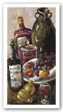Pears and Wine Blackburn Art Print 24x12
