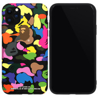 A Bathing Ape Bape MULTI CAMO Cover Case For iPhone 11 Pro Max XS XR 8 7 Plus SE