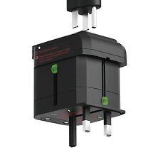elago Tripshell Travel Adapter [Dual USB] - [Surge Protection]  TR-ADAP-USB-BK