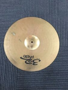 """Vintage 90's Cymbal - 302 Paiste 20"""" Ride - Great Condition"""