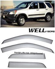 For 02-06 Honda CRV RD4 WellVisors Premium Series Side Window Visors Deflectors