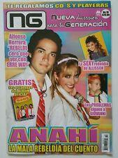 revista NUEVA GENERACION #10 poster de  rebelde