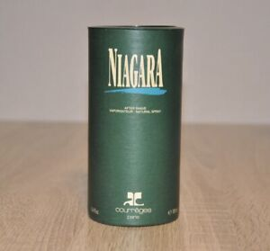 COURREGES NIAGARA AFTER SHAVE LOTION 100ml., VINTAGE, VERY RARE, NEW IN BOX