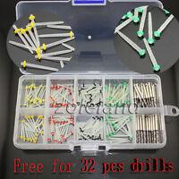 160 PCS Dental Glass Fiber Post Single Refilled Package & Free For 32 PCS Drills
