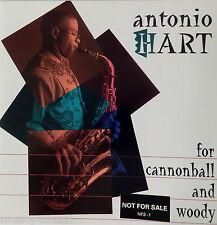 Antonio Hart - For Cannonball & Woody (CD, 1993, Novus) PROMO VG+