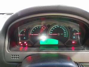 HOLDEN CREWMAN INSTRUMENT CLUSTER AUTO, BLACK FACE,-VZ, 10/02-09/07 02 03 04