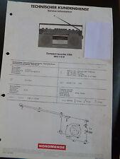 Original Service Manual  Nordmende Compact Recorder 2384