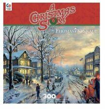 Thomas Kinkade Puzzle Christmas Story 300 Piece Ceaco Puzzle