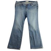 Torrid Women's Jeans 24XT 24 Tall Classic Fit Mid Rise Medium Wash Blue Boot Cut