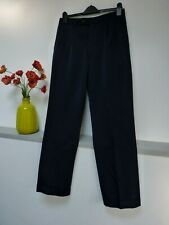 "Mens Smart Jaeger Navy Blue High Wool Trousers Size 32""w x 31L, Bnwot"