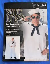 NEW Karnival Halloween Sailor Guy Costume Size Medium ***FREE SHIPPING***