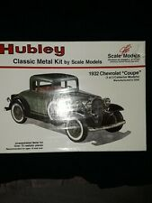 Hubley Scale Models 1932 Chevrolet Coupe metal kit No.4001-New in plastic wrap.