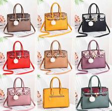 Women Ladies PU Leather Handbag Large Shoulder Satchel Messenger Crossbody Bag