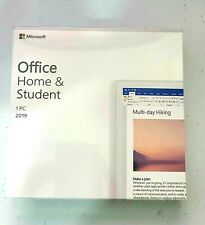 Genuine Microsoft Office Home and Student 2019 DVD For PC   Box     Office 2019