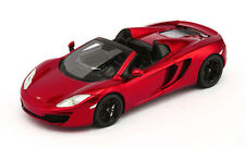 McLaren MP4-12C Spider 2013 Metallic Red 1:43 Model TRUE SCALE MINIATURES