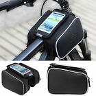 Roswheel Cycling Bicycle Frame Front Pannier Top Tube Double Bag Pouch Holder