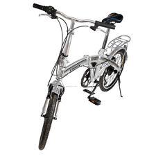 """Pieghevole 20 """"6 marce cambio bici bicicletta manico regolabile in altezza bar"""
