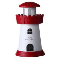 Lighthouse Humidifier Atmosphere Nightl Lght Desktop USB Mini Air Purifier D