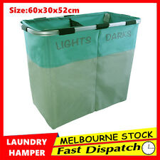 New Foldable Laundry Hamper Bag Basket Washing Clothes Storage Bin Bathroom