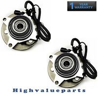 Pair of 515119 Front Wheel Bearing & Hub Assembly for Ford F-150 2009 2010 4WD