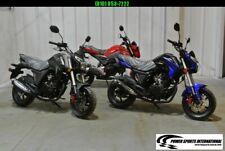 2020 Lifan Kp Mini 150 E-Start Motorcycle 50+mph Honda Grom Killer Black #0098