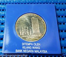 1990 Malaysia $25 Ringgit Kuala Lumpur 100 Years Tahun 925 Fine Silver Coin
