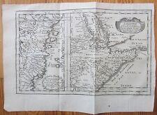 Sanson: Original Engraved Map of Somalia Kenya - 1660