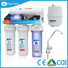 FND Reverse Osmosis 5 Stage Alkaline Water Purifier Filter System For Home USA