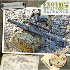2014 Exotic Weapons Tactical Calendar 13 Months of Sexy Guns! AR15 AK47 GLOCK