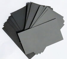 "sandpaper Wet or Dry 60 pc.3"" X 5 1/2"" COMBO 180 / 220/ 320 / 400 / 600/800 Grit"