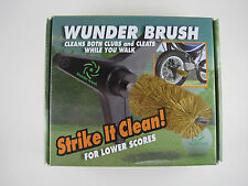 Goft Wunder Brush  - Cleans your GOLF clubs & Shoes as you walk