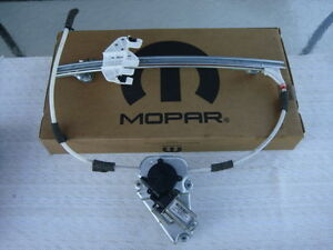 JEEP LIBERTY 06-07 ELECTRIC MOTOR POWER WINDOW REGULATOR FRONT RIGHT R PASSENGER