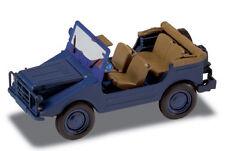 DKW MUNGA  THW Bleue 1/43  avec capote ouverte NEUVE