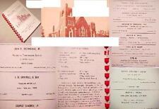 1958 WILLOW STREET PA LANCASTER BOEHM'S METHODIST CHURCH COOK BOOK FAMILY RECIPE