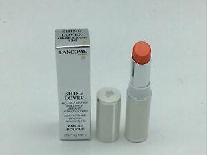 Lancome Shine Lover 136 Amuse Bouche Vibrant Shine Lipstick 8 Hour Moisture