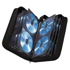 64 Sleeve CD DVD Blu Ray Disc Carry Case Holder Bag Wallet Storage Ring Binder