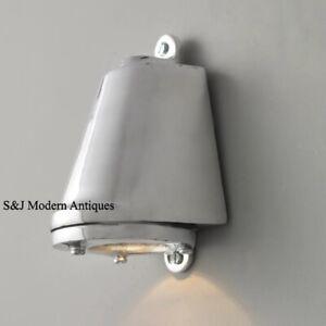 Davey & Co Style Industrial Bulkhead Light Vintage Antique Ship Lamp Aluminium