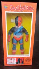 "DEATHSTROKE DC Comics RETRO SOFUBI Action Figure NEW IN BOX 10"" Medi Com"