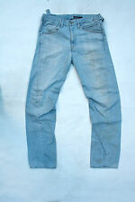 LEVIS 025 Engineered Relaxed Mens Jeans Light Blue Denim Faded Red Tab W30 L34