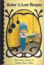 LOUISVILLE KY 1983 EPSILON SIGMA ALPHA COOK BOOK BUTTER N LOVE RECIPES *KENTUCKY
