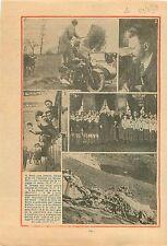 Trotsky à Barbizon Expulsion de France/Hôtel de Ville de Paris 1934 ILLUSTRATION