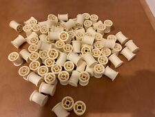 Empty spools for wrapping material for For Fly Tying