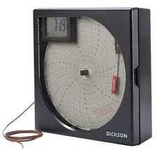 DICKSON KT8P3 Temperature Chart Recorder,KThermocouple