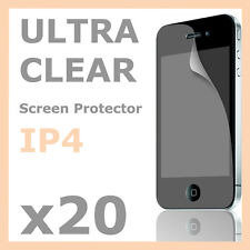 20 x Super Clear LCD Screen Protector Guard Skin Film for Apple iPhone 4S 4G 4
