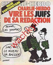 Charlie Hebdo n°516 du 01/10/1980 Antisémitisme Wolinski Néo-nazi Munich