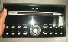 Ford Focus Sony Radio CD Player MP3 4M5T-18C815-BK 2005-2008 MK2 05-08 With Code