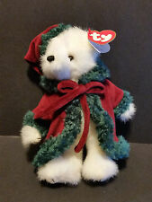 "2000 Ty Plush 8"" Klause the Christmas Bear"